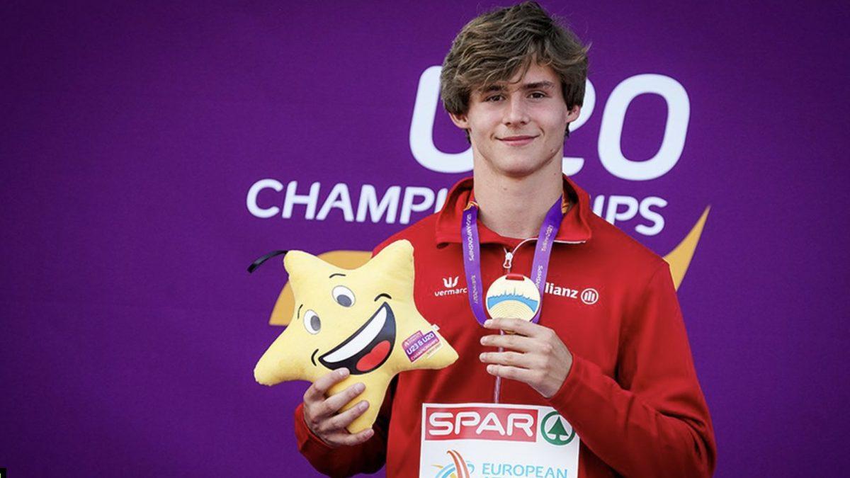 Jente Gouden medaille op het EK Junioren in Estland